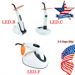 Usps Woodpecker Original Dental Led Curing Light Lamp Led b c f Wireless Cordles