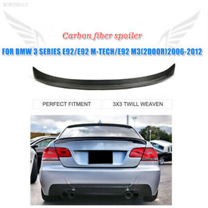 3057 Carbon Fiber Car Rear Wing Rear Wing Hydrographics Roof Trim Car Styling