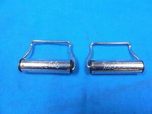 Mustang Fairlane Falcon Galaxie One Pair Used Seat Belt Roll A Belt Reels