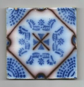 French Original Antique Tiles Delft Style Fa Ence De Desvres Pas Calais Ca1870