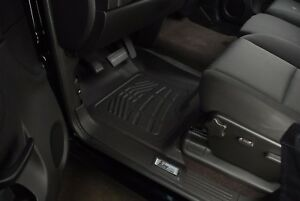 2014 2018 Chevy Silverado 1500 Double Cab Sure Fit Floor Mats Fronts