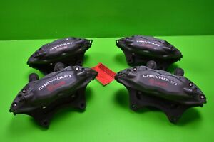 2012 Chevy Camaro Front And Rear Brembo Calipers With Pins And Brake Pads