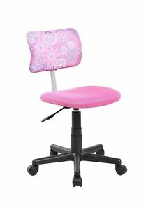 Anji Swivel Mesh Back Kids Desk Chair With Adjustable Seat Office Task Chair
