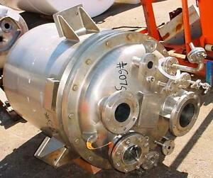 80 Gal Vert Northland Stainless Steel Reactor T 316 Stainless Steel Item 8599