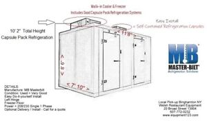 Walk in Cooler Freezer Combo Box Self contained Refrigeration Capsule Packs