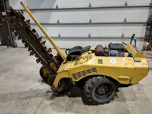 Rt 2050 200 Vermeer Trencher 6 Wide Rock Dirt Combo Chain 48 Ditch Witch Case