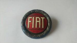 Vintage 1920s And 1930s Fiat Milano Badge Emblem Trim Decal