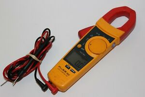 Fluke 902 True Rms Hvac Clamp Meter With Fluke Leads