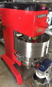 Red Blakeslee Dd 60 Floor 60 Quart Capacity Pizza 3hp Made In Usa Gear Driven