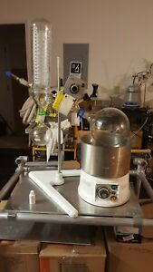 Buchi Rotary Evaporater R Model Refurbished W Vac Pump Cooling System Turn Key