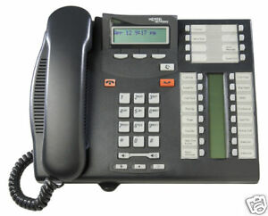 Lot Of 10 Nortel Norstar Bcm T7316e Charcoal Telephones In Excellent Condition