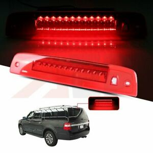 Red Led 3rd Brake Light Tail Lamp For 03 16 Ford Expedition Lincoln Navigator