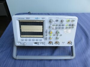 Agilent Dso6012a Oscilloscope 100mhz 2gsa s 2ch With 3 Probes P6105 10074c 2