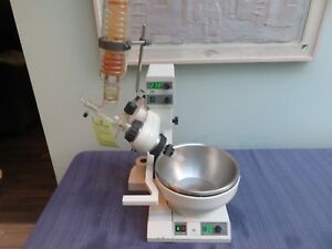 Buchi Rotavapor Rotary Evaporator R 124 With B 481 Water Bath And Condenser
