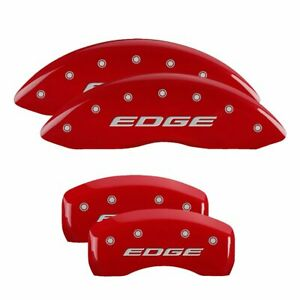 Mgp Set Of 4 Brake Caliper Covers Front Rear Left Right Lh Rh Ford Edge