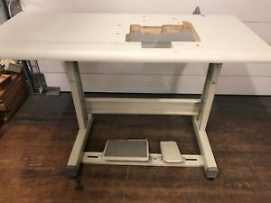 New Sewline Juki Style Table Set For Mo Series Sergers Industrial Sewing Machine