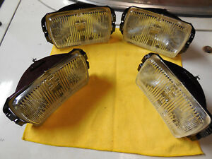 Cibie Type 175 Nos Clear Fog Lens Units Blow Out Offer 2 Pair Reduced Price