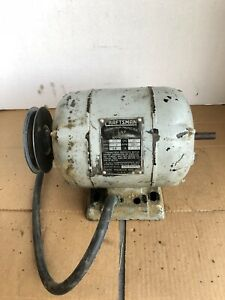 Atlas Craftsman 12 Lathe Motor 1 2 Hp 1750rpm