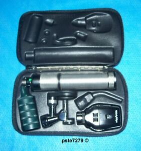 Welch Allyn 3 5v Portable Diagnostic Set 21700 Otoscope 11710 Ophthalmoscope