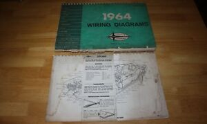 Oem Ford 1964 Wiring Diagram Manual 64 1 2 Mustang Ford Mercury Lincoln Truck