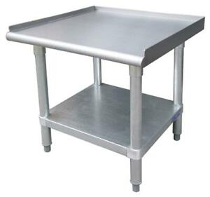 24 X 24 Stainless Steel Commercial Heavy Duty Equipment Stand Free Shipping