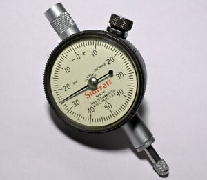 L s Starrett 81 141 Dial Indicator 001 Jeweled 0 50 0 1 11 16 Diameter