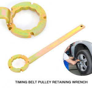 Timing Belt Pulley Retaining Wrench Spanner Metal Usa Stock