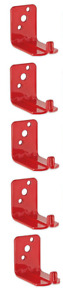 5 Lot New Hook Style Wall Mount 20 Size Fire Extinguisher Bracket Universal