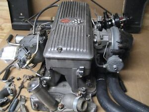 1963 5 Corvette Rochester Fuel Injection With Radiator Support Chev Streetrod