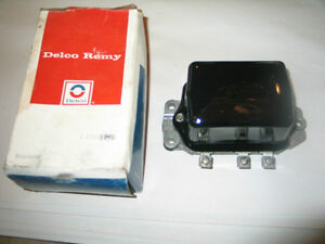 Nos Delco Remy Voltage Regulator 1118896 1953 63 Cadillac Chevrolet Oldsmobile