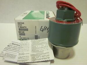 Asco Red Hat 8262c062e Solenoid Valve 1 4 24v Dc Air Gas Water