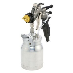 Apollo Atomizer 7700 Spray Gun For Hvlp Turbines With 1 Qt Pressure Feed Cup