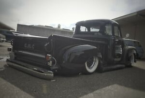 1947 To 1954 Chevy Gmc Truck Bagged Rear Suspension Complete Lay Frame Kustom