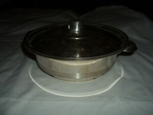 Mappin Webb 9 Silver Plate Covered Serving Dish