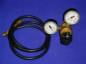 Harris 601 Argon Co2 Inert Gas Flowmeter Regulator Tig Mig Welding 4 Ft Hose