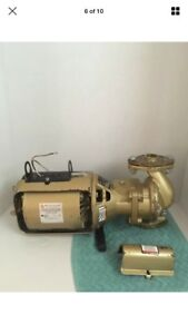 Bell Gossett 106192lf 1 12 Hp Series 100 Ab Bronze Circulator Pump B g