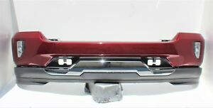 2016 17 2018 Chevy Silverado 1500 Front Bumper Assembly W Fog Lights Oem Red