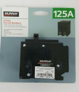 Murray Mp2125 2 Pole 125 Amp Type Mp t 120 240v Plug In Circuit Breaker New