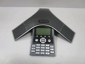 Polycom Soundstation Ip 7000 2201 40000 001 Hd Voice Conference Ip Phone Used