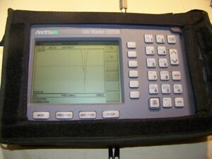 Nice Anritsu S331b Site Master With New Smart Battery New Charger Full Test 2