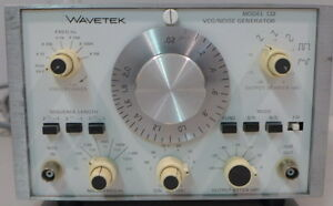 Wavetek 132 Vcg noise Generator 2 Tested And Working