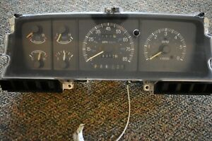 1994 Ford F series Guage Cluster Mechanical Odometer With Tach used Fpa3