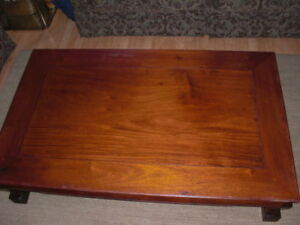 George Zee Rosewood Table Large 3 X 5 Huanghuali Style 1950 S Hong Kong
