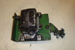 John Deere 4010 Diesel Tractor 24v Voltage Regulator Plate