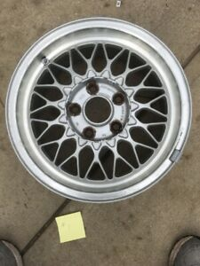 1986 1991 Mazda Rx 7 Fc3s Oem Bbs15x6 5 Light Weight Factory Alloy 1 Wheel 1