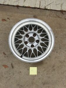 1986 1991 Mazda Rx 7 Fc3s Oem Bbs15x6 5 Light Weight Factory Alloy 1 Wheel 2