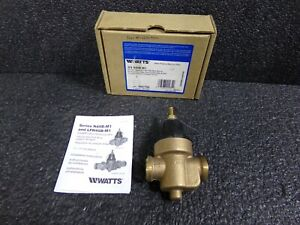 Watts 3 4n45bm1 Water Pressure Regulator Valve With Plastic Housing bronze 3 4