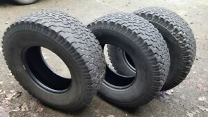 Bf Goodrich All Terrains 315 70r17