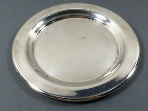 Vtg Epca Bristol Silver Plated By Poole 48 Wine Bottle Coaster Dish Table Ware
