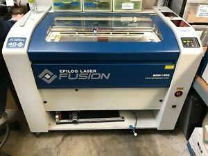 Epilog Fusion Laser Engraver 32x20 40 Watt W Rotary Attachment 2014